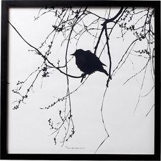 Bild mit Rahmen, Bloomingville, 50/50 cm für 39,99€. Bild mit Rahmen von Bloomingville, Dänische Trendmarke, Coole Wanddekoration, Rahmen aus Holz bei OTTO