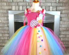 Candy Land Tutu Candyland Birthday Candy by PrincessFactoryTutus Source by melpsu Costume Cupcake, Lollipop Costume, Costume Bonbon, Candy Girls, Costumes Avec Tutu, Candy Costumes, Girl Costumes, Candyland, Anniversaire Candy Land