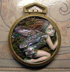 sleeping fairy by Sue Beatrice