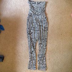 Jumpsuit Like new. I just can't pull it off  Marshmallow Pants Jumpsuits & Rompers