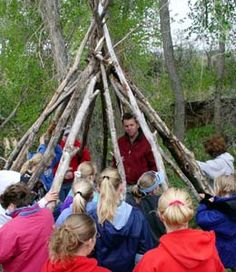 K - 12 Outdoor Skills Online Curriculum Guide For Schools, Scouts, Nature Centers, and Families