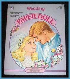 Barbie Wedding Paper Dolls