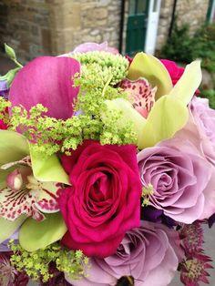 My pretty wedding flowers