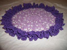 Crochet Ruffle Doily-made using an antique pattern