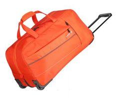 Rollenreisetasche Travelite Kite kräftiges Orange 2-Rad - Bags & more Nylons, Orange, Unisex, Sling Backpack, Gym Bag, Backpacks, Material, Products, Fashion