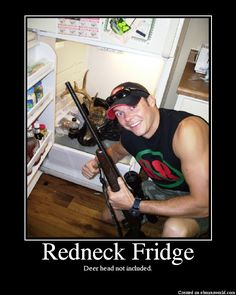 That moment when your freezer is like this... Except with like 20 deer...