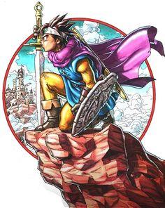 dragon quest 3 | Artworks Dragon Quest III