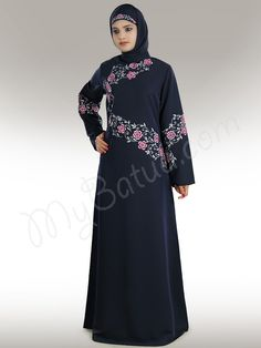 Rija Abaya - (Any Size, Any Length - We Customize)  Click Image to Buy and View Detail Online