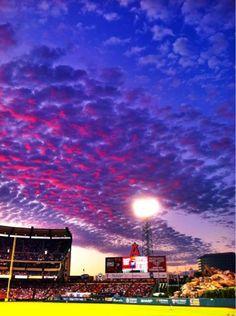 Anaheim Angels stadium -- stunning!