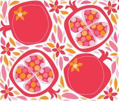 Pom-O-Roma fabric by bzbdesigner on Spoonflower - custom fabric