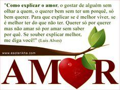 A poética do amor...