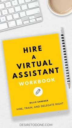 Feeling stressed and overwhelmed about hiring your first Virtual Assistant? Want to outsource some tasks but don't know where to begin? This workbook will help you hire, train, and delegate to a VA so you can focus on doing what YOU do best! #hireavirtualassistant Home Based Business, Start Up Business, Business Tips, Online Business, Virtual Assistant Services, Quitting Your Job, Work From Home Tips, Feeling Stressed, Time Management Tips