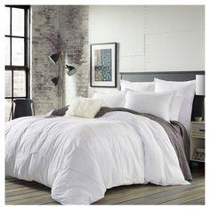 """White Cotton Bedding in a Bag | Blissful Bedding Sets"" #whitebeddinginabag #linenbeddingsets"