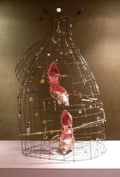 Marie Christophe birdcages for Roger Vivier Paris