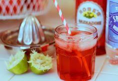 homemade cherry lime soda