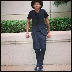 All black everything! Streetstyle fashion