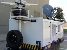 emergency disaster satellite trailer