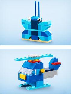 Laat je inspireren door je eigen wereld - Bouwinspiratie - Classic LEGO.com Lego Basic, Lego Minecraft, Lego Friends, Lego Duplo, Legos, Lego Site, Instructions Lego, Lego Creative, Classic Lego