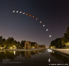 Debod 'Eclipsed' By Supermoon (2016 Version) by servalpe #architecture #building #architexture #city #buildings #skyscraper #urban #design #minimal #cities #town #street #art #arts #architecturelovers #abstract #photooftheday #amazing #picoftheday