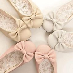 balerinas de colores Zapatos Rosados 5a9e7301357