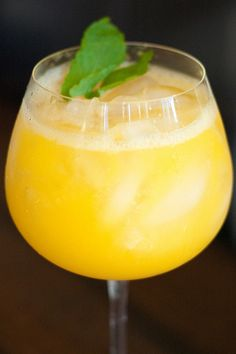 recipe for Peach Wine Cooler by House of Spain, via Flickr