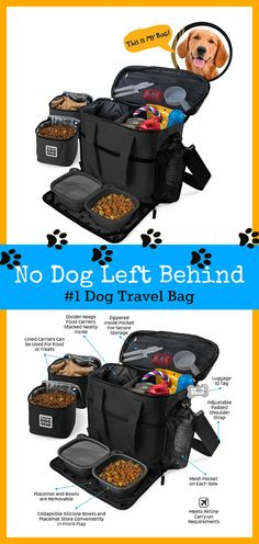 Dog-cation! Take Your Pup Anywhere Your Paws Lead You. Check Out The Number 1 Selling Dog Travel Bag! #DogBag