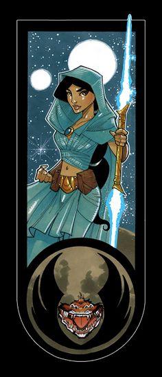 Princesses Disney jedi - Jasmine