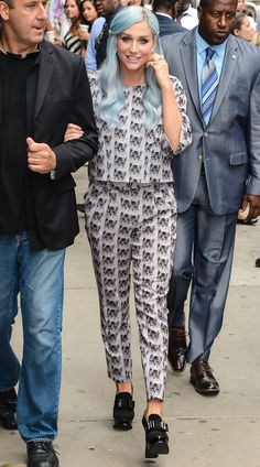 Kesha rocking head-to-toe Paul & Joe Sister. Shop the look over at SIVVI.COM