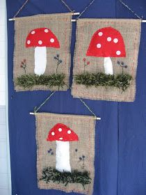 Crafts To Do, Crafts For Kids, Arts And Crafts, Autumn Crafts, Autumn Art, Mushroom Crafts, Art Projects, Projects To Try, Mouse Crafts