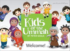 Kids of the Ummah - Fun Apps & Books - Islamic App - Muslim Kids Activities