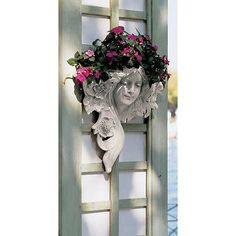 "15"" classic art #nouveau antique #replica greenman garden wall font #planter righ,  View more on the LINK: 	http://www.zeppy.io/product/gb/2/291694661385/"