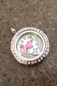 """Origami Owl living locket- Origami Owl Living Lockets! Personalize yours today! ORDER BY CLICKING ON PHOTO 1) Click """"Sign in to My Account"""" 2) Create Account 3) Happy Shopping! #14672 www.brookejohnson.OrigamiOwl.com"""
