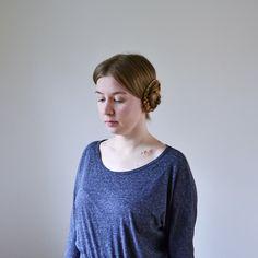 Tutorial: Princess Leia hair style, part 2 Shops, Pullover, Princess, Hair Styles, Side Buns, Fashion, Princess Leia, Weaving, Tutorials