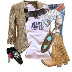 """""""a gypsy's night out"""" by junkgypsyofficial on Polyvore"""