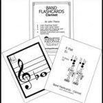 Band Flashcards - various instrument fingering