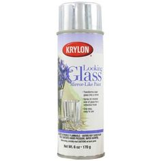 $11.99 (could try making my own mirrored furniture?) Krylon Looking Glass Spray