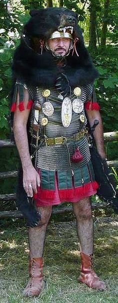 roman legionary vexillarius or vexilifer