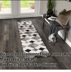 The smart use of shading on neutral, geometric shapes makes the Trimmer Taupe area rug an isometric wonder for your world. Add this delightfully dimensional area rug by Orian Rugs to any room that needs depth and visual interest. Soft to the touch, yet decidedly durable, this area rug promises years of worry-free wear thanks to its easy cleaning, stain-resistant, non-fading, shed-free nature.