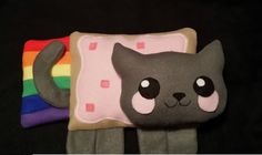 Nyan Cat plush by StarDropCreations on Etsy, $20.00