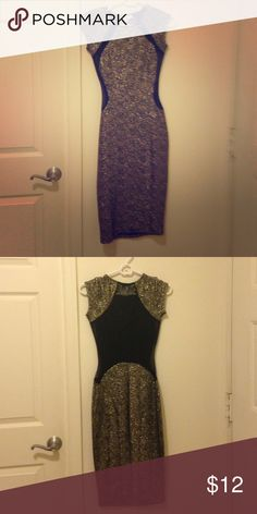 Sexy Glitter Dress w/ Shear Back This dress has never been worn and is in excellent condition. Every woman needs a little sparkle in their wardrobe, why not add this dress? 😉 JustFab Dresses Mini