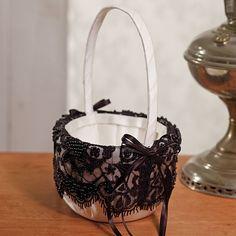 Beverly Clark Gala Collection Flower Girl Basket