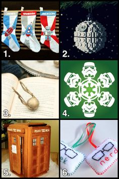 Geek Crafts Roundup: Have a Nerdy Holiday