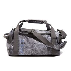 Green your workout gear! This gym bag is made entirely from recycled plastic bottles. Where to buy it: http://www.womenshealthmag.com/style/green-workout-gear