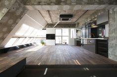 Apartment in Tokyo ||| Architect: Ryohei Tanaka / G architects studio + Teruya Kido/ Sumasaga Fudosan