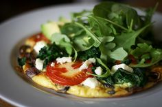 Vegetable Frittata by @Monica Forghani Shaw from her post on the 5:2 Fast Diet