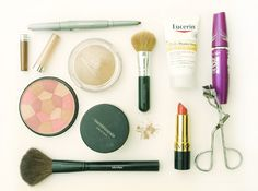 Simple Summer Make-Up by Collect blog  #collectandcarry