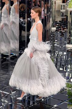 Chanel Haute Couture Spring Summer 2017, Paris.