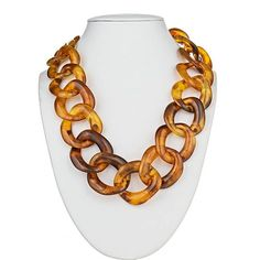 Short Tizzy Necklace – Tortoise | Sugar Palm Darling and I love this necklace