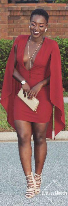 Dress by  Fashion Nova // Fashion Look by Wilonda Previlon