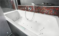 Koupelnové trendy Bathtub, Bathroom, Standing Bath, Washroom, Bathtubs, Bath Tube, Full Bath, Bath, Bathrooms